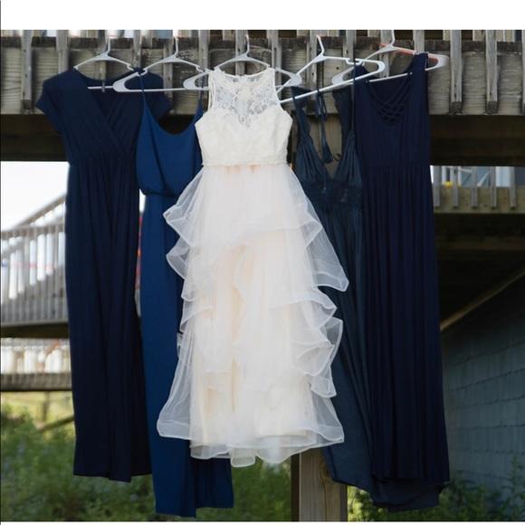 Dresses 2 Pc Ivory Lace Wedding Dress W Full Skirt Poshmark